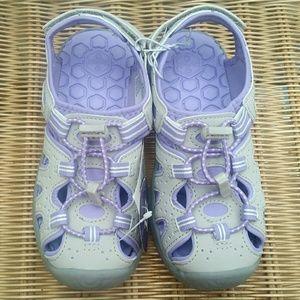 Girls KHOMBU Active Sandals NWT! Size 12 Toddler